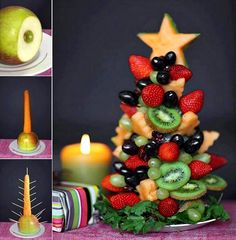 The Perfect DIY Food Christmas Tree