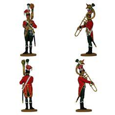 Músico del 9° Regimiento de Línea 1808-1810