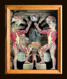 Mixed Media Collage Assemblage | Flickr - Photo Sharing!