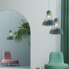 Minton - Modern Nordic Art Deco Hanging Light The divine Minton is the perfect combination of modern nordic art deco design & sport! Made from painted iron metal & wood. Measures approximately 12 Art Deco Stil, Modern Art Deco, Art Deco Home, Art Deco Decor, Nordic Art, Nordic Design, Interior Design Minimalist, Modern Design, Nordic Interior
