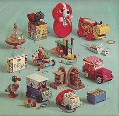 Vintage Christmas 1962 Marshall Field Toy Doll Catalog
