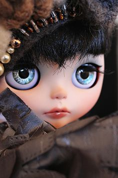 THOSE EYES! Sweet little mouth too Blythe