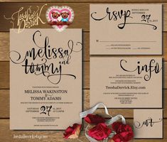 Cool Printable Wedding Invitations Best Photos
