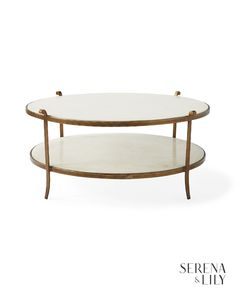 Recalling the furnishings of Paris, our table is elegantly fashioned from gilt iron and stone. The dual-shelf design gives you double the curating potential.