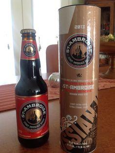 Ma bière préférée de la dernière semaine: St-Ambroise Stout Impériale Russe
