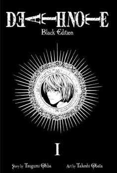 Death Note: Black Edition, Volume 1 by Ohba Tsugumi. A graphic novel. 5/5.