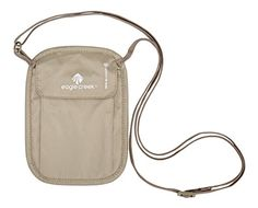 Eagle Creek RFID Blocker Neck Wallet Tan One Size ** To view further for this item, visit the image link.