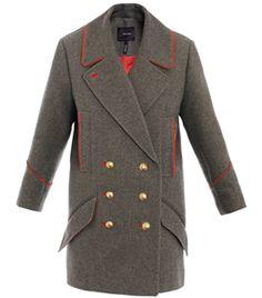 David Caban Military Coat by Isabel Marant   #Matchesfashion