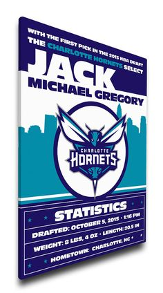 1990s vintage nba charlotte hornets pennant basketball throwback charlotte hornets personalized baby gift canvas birth announcement negle Gallery