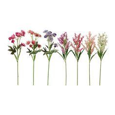 SMYCKA Kunstig blomst IKEA Vellignende kunstig blomst, der bliver ved med at se frisk og smuk ud i mange år.
