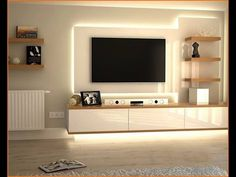 Amazing ways to design your TV Unit!! - YouTube