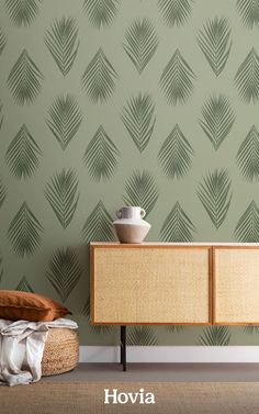 With the lush green Honua pattern on your walls, it's easy to create a personal paradise at home. This tropical wallpaper will transport you to a remote island resort by transforming your room with its photographic palm leaf pattern and rich green tones. All it takes is one wallpaper design to give your blank room a relaxing renovation. If Honua is the design that's calling to you, make it your accent wall and discover an immersive new look for your interior. Paradise Wallpaper, World Map Wallpaper, Tropical Wallpaper, Forest Wallpaper, Green Wallpaper, Flower Wallpaper, Pattern Wallpaper, Childrens Shop, Design Repeats