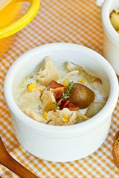 Chicken Corn Chowder (チキンとコーンのチャウダー) | Easy Japanese Recipes at JustOneCookbook.com