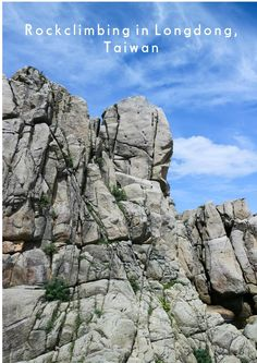 boy & girl globetrot: rock climbing in Longdong