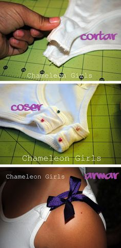 Camiseta customizada DIY T-Shirt. breteles