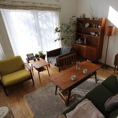 Living Spaces, Living Room, Corner Desk, Minimalism, Sweet Home, Interior Design, House, Furniture, Home Decor