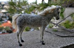 I accept custom orders for this horse. I will create this little unique wool sculpture out of natural,sheep wool. Such a horse features bendable legs, so may be very gently positioned to follow your imagination. Please take care to handle gently, dont pull its fibers. The horse is