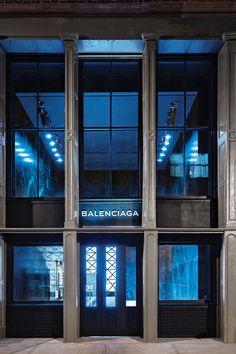 Balenciaga store in Soho