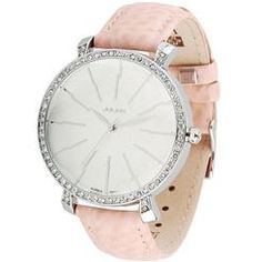 Real Leather Rhinestone Fashion Watches for Women