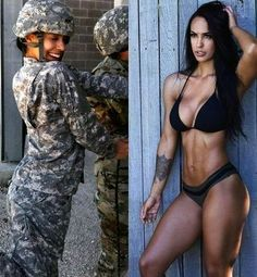 (notitle) - Hübsche Hot Girls - Women in Uniform Sexy Women, Badass Women, Fit Women, Beautiful Women Pictures, Gorgeous Women, Foto Casual, Female Soldier, Army Soldier, Military Women