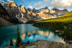 Morning along the Valley of the Ten Peaks - © Christopher Martin 2012-0141-2 Banff National Park
