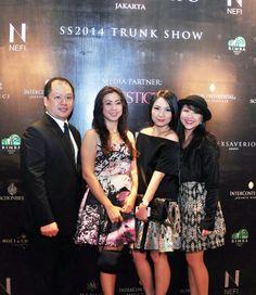 Ms. Faye Liu, Ms. Maiko Kawano and friends