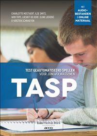 De TASP is een zinnendictee voor studenten uit het hoger onderwijs. Het dictee wordt via een audiobestand op tempo aangeboden, zodat studenten beperkte tijd hebben om over de schrijfwijze van de woorden na te denken. Zo is het mogelijk om de geautomatiseerde spellingvaardigheden te meten. Het dictee is in Vlaanderen genormeerd voor studenten met een vooropleiding aso of tso en in Nederland voor studenten met een vooropleiding vwo of havo.
