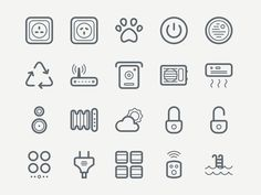 Today's free design resource Smart icon set is designed and released as a freebie by Roman Malashkov. This icon set contains 40 free icons House Sketch, Best Icons, Home Icon, Design Development, Smart Home, User Interface, School Design, Icon Set, Icon Design