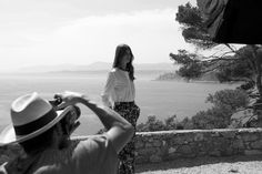 In June 2014, Façonnable is invited to the Santo Sospir Villa : the crews discover an enchanting setting that will be used as the backdrop of the Spring-Summer 2015 advertising campaign and the short-movie Façonnable X Santo Sospir. Credit: N. Lemay