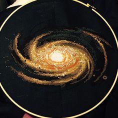 "chelle3262: ""bikiniwaxingpoetic: ""uss-gumdrop: ""Spiral Galaxy, day 27. (And 9 feet of snow later…) "" chelle3262"" YAAASSSS """