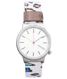 Komono - Wizard Print Watch (80's Leopard) - $75