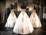Ivory/Gold Ball Gown-Strapless-Sweetheart-116EC0160520 - Rsvp EC - Long Gown - Rsvp Prom and Pageant - 2