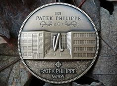 "Patek Philippe Geneve commemorative medal coin unframed print. Price starts at $22 (Petite 7"" x 10"")."
