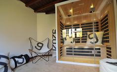 Installation d'un sauna infrarouge Tylö - Bienfait Wellness & Spa Quelques Photos, Wellness Spa, Loft, House, Furniture, Home Decor, Decoration Home, Home, Room Decor