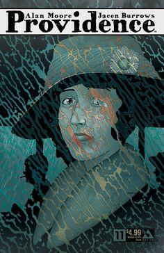 Providence issue 11 - women of HPL cover. Alan Moore, Jacen Burrows (Avatar Press)