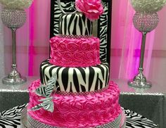 Quinceanera Party Planning – 5 Secrets For Having The Best Mexican Birthday Party Zebra Print Party, Zebra Print Birthday, Animal Print Party, Birthday Party Celebration, Birthday Party Decorations, Birthday Parties, 60th Birthday, Birthday Ideas, Barbie Theme