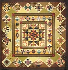 Aunt Lucy's Medallion Quilt Pattern by Lori Smith | eBay