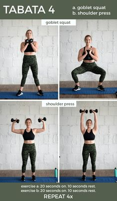 and anywhere Dumbbell Tabata Workout – perfect for getting in both strength and cardio. Set your interval timer, grab a set of dumbbells and get this workout done! Fit Mitten Kitchen, What Is Hiit, Cardiovascular Training, Cardio Boxing, Build Muscle Mass, Cardio Routine, Dumbbell Workout, Kettlebell, Amigurumi