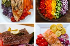 Get In All Yours Vitamins With These 4 Delicious Rainbow Veggie Meals