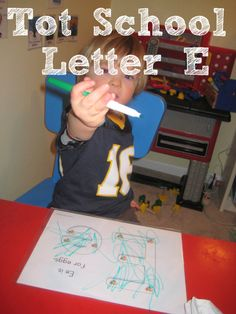 Tot School Printables Letter E is for Egg from Wildflower Ramblings Preschool Literacy, Preschool Letters, Preschool At Home, Toddler Preschool, Alphabet Letters, Kindergarten, Letter E Activities, Abc Worksheets, Tot School