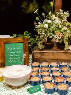 Wedding Reception Food Individual pie bar idea for wedding reception dessert station - Treat guests to one of these awesome food stations. Wedding Hors D'oeuvres, Wedding Reception Food, Wedding Catering, Wedding Ideas, Reception Ideas, Wedding Planning, Wedding Bells, Pie Bar Wedding, Boho Wedding