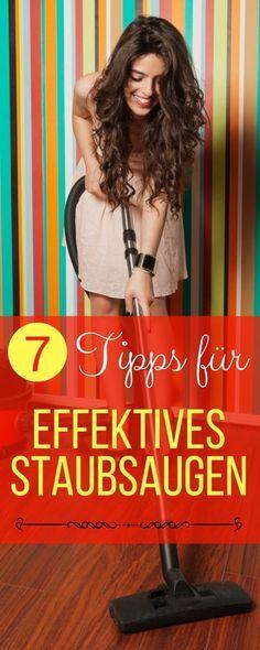 7 Tipps für effektives Staubsaugen | Haushaltsfee.org