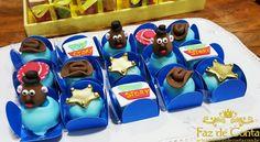 doces glaçados Toy Story