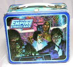 1980's Empire Strikes Back Lunchbox