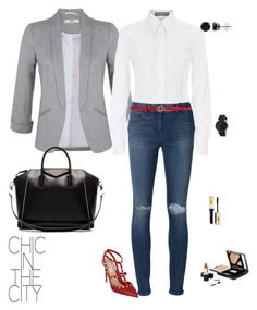"""""""Feliz Lunes!!"""" by liz-chirinos-godoy on Polyvore featuring Miss Selfridge, Valentino, Givenchy, Gucci, Dolce&Gabbana, 3x1 and BERRICLE"""