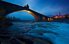 Emilia Romagna Serena y Transparente (Ponte Gobbo, Bobbio, Piacenza)