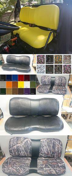 Deluxe John Deere Gator Mower Yellow Seat Cover M