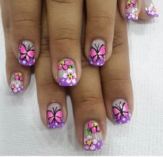 French manicure designs disney 60 Ideas for 2019 French Manicure Designs, French Tip Nails, Short Nail Designs, Nail Polish Designs, Cute Nail Designs, White Lace Nails, May Nails, Diy Manicure, Beautiful Nail Art