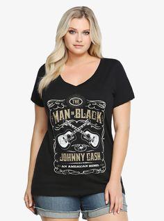 Johnny Cash Man in Black Tee | Torrid