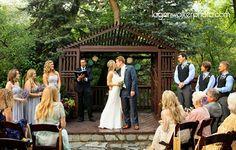 Millcreek Inn Wedding Ceremony | Lavender Wedding Colors | Utah Wedding Minister Craig Gordon | Logan Walker Photography